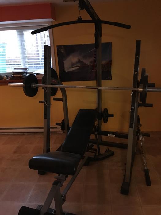 nautilus weight machine