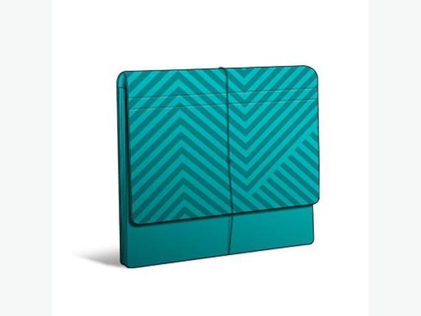 HALLMARK 12-Pocket Portfolio - Turquoise
