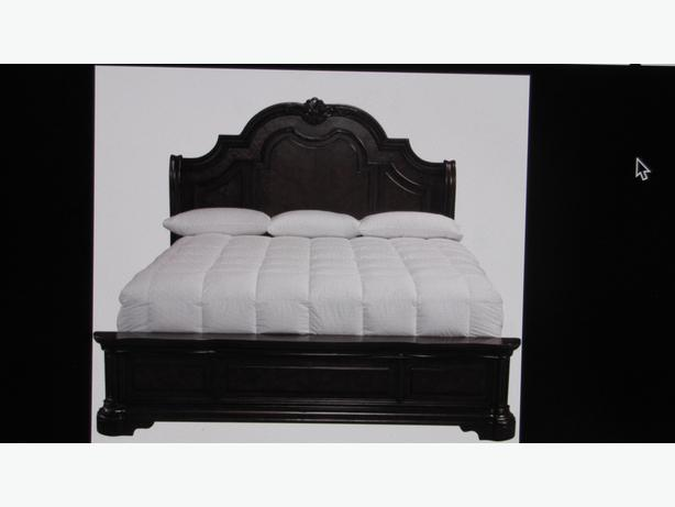 Wanted king size headboard footboard and rails summerside for King size footboard