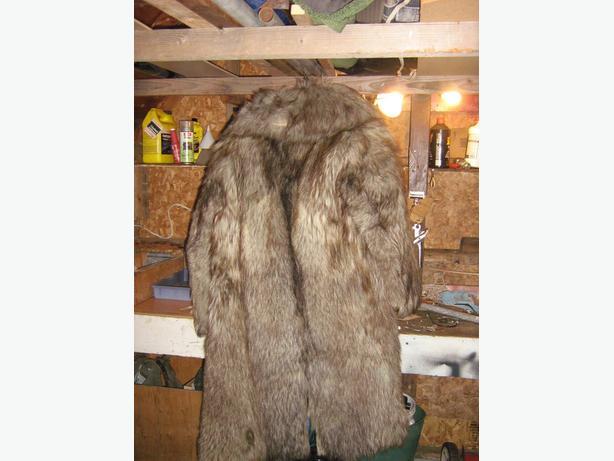 Very Old Mans Fur Coat