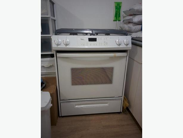 Whirlpool Gold Gas Stove