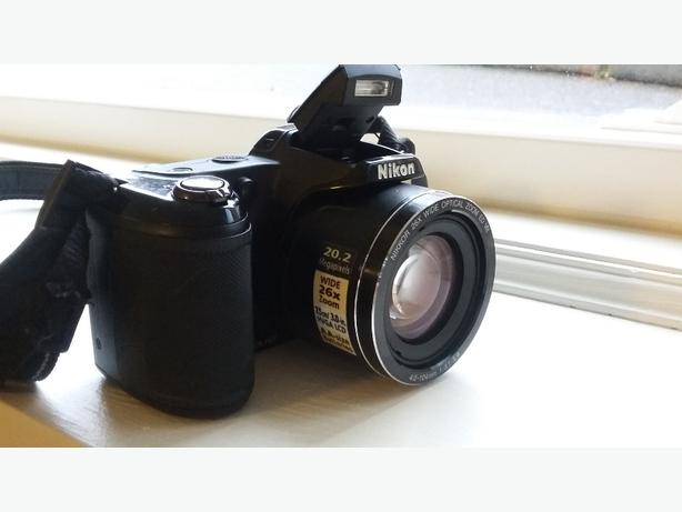 Nikon COOLPIX L330 20.2 MP Digital Camera - Black