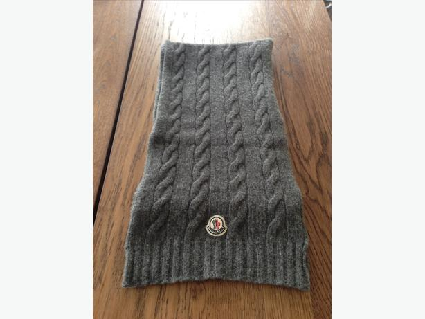 Luxury Moncler Wool Scarf
