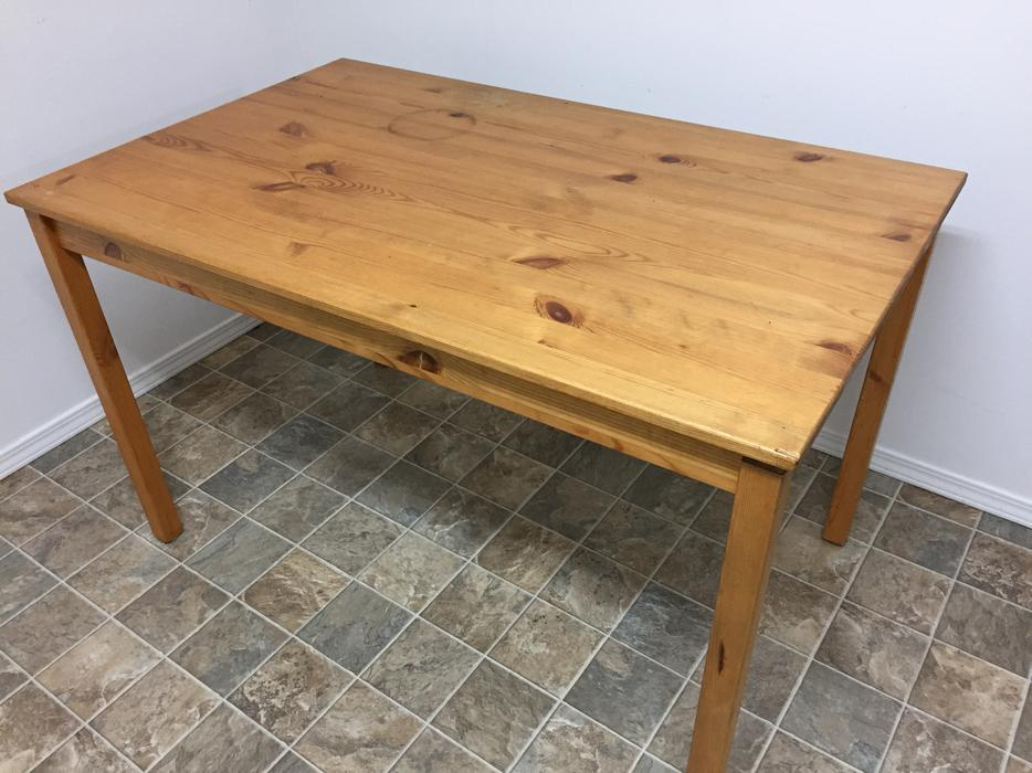 Free basic dining table saanich victoria for Basic dining table