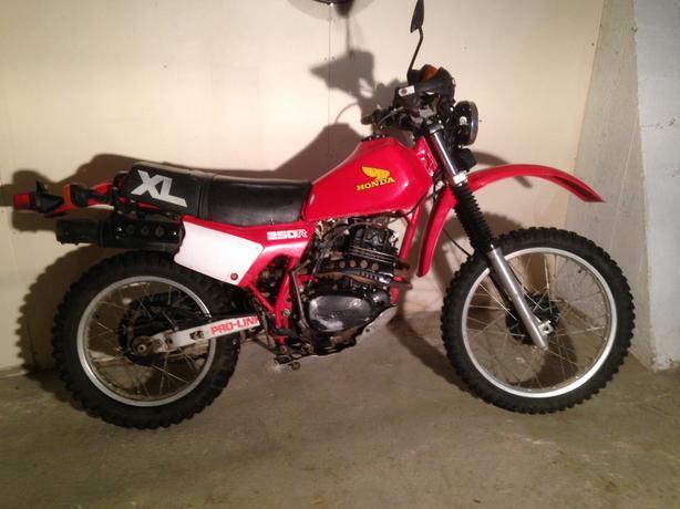 1983 Honda 250 XL $2000 obo