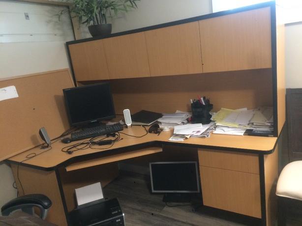 L Shaped Commercial Computer Desk West Shore Langford