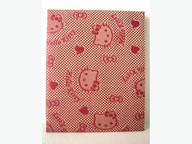 Magic Wallet - Red Hello Kitty Patterned Fabric