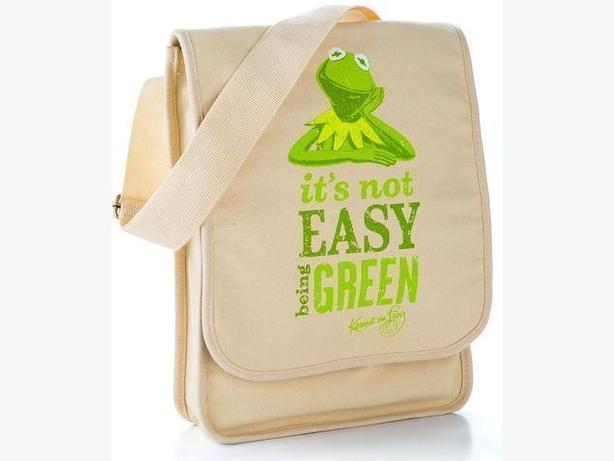 Hallmark Kermit the Frog Messenger Bag
