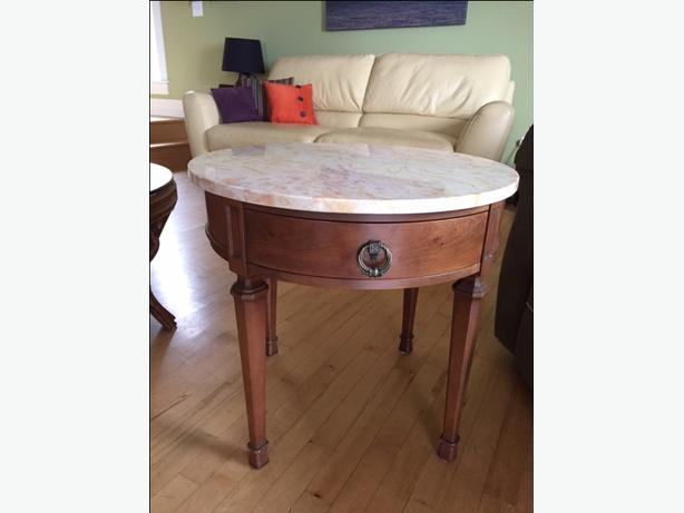 Mid Century Round Occasional or End Table