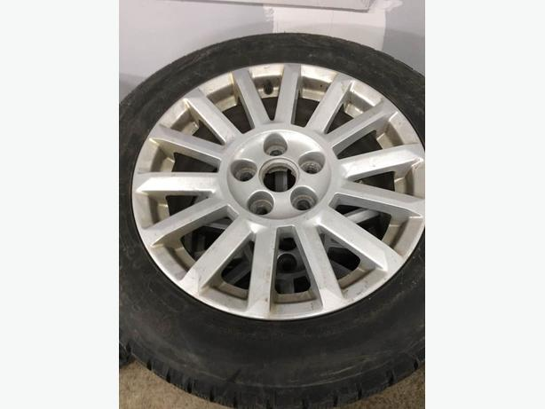 2013 cadillac cts 4 17 inch rims with tpsm and winter tires outside ottawa gatineau area ottawa. Black Bedroom Furniture Sets. Home Design Ideas