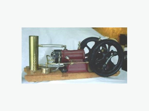 HANDCRAFTED MODEL GOULD-SHAPLEY-MUIR STATIONARY ENGINE