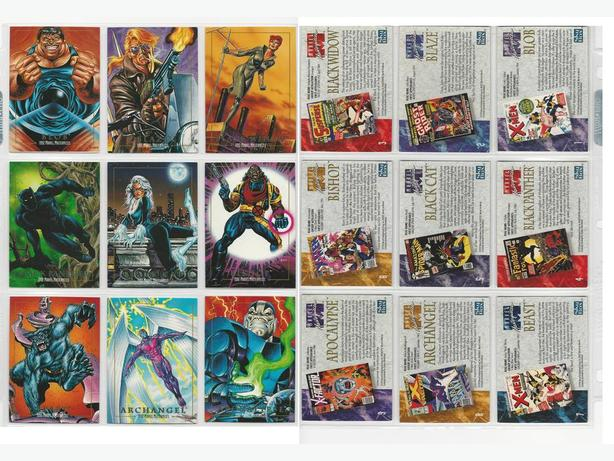 1992 MARVEL MASTERPIECE SUPER-HERO TRADING CARDS