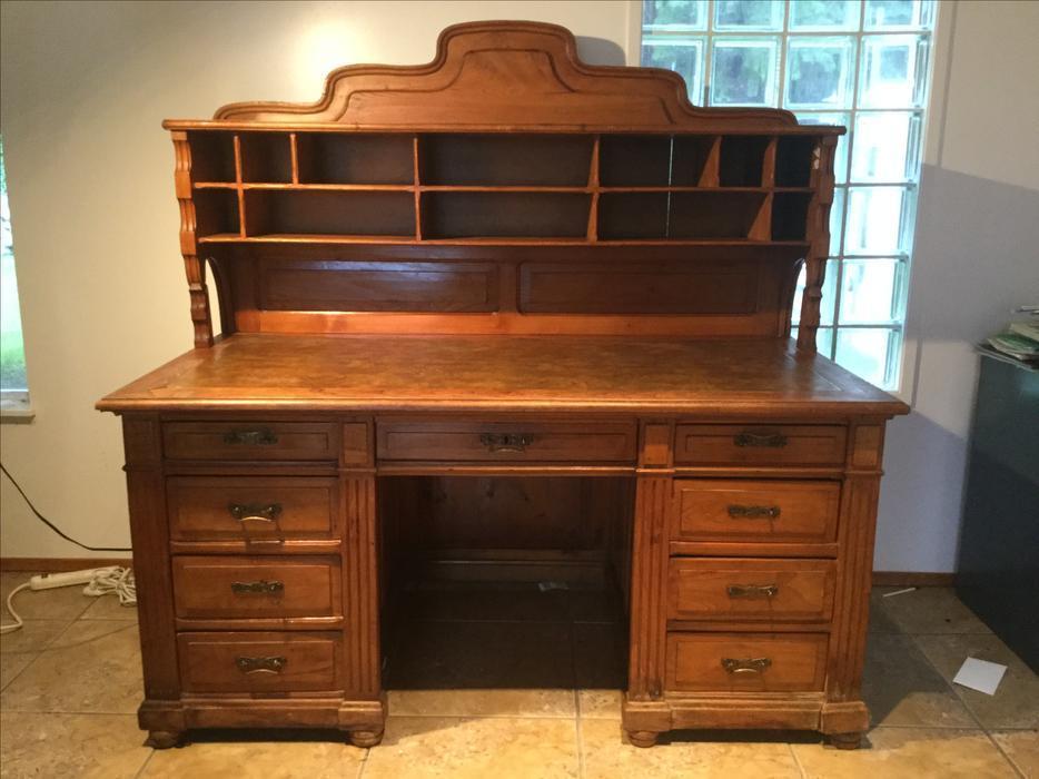 Antique Desk Vancouver Island