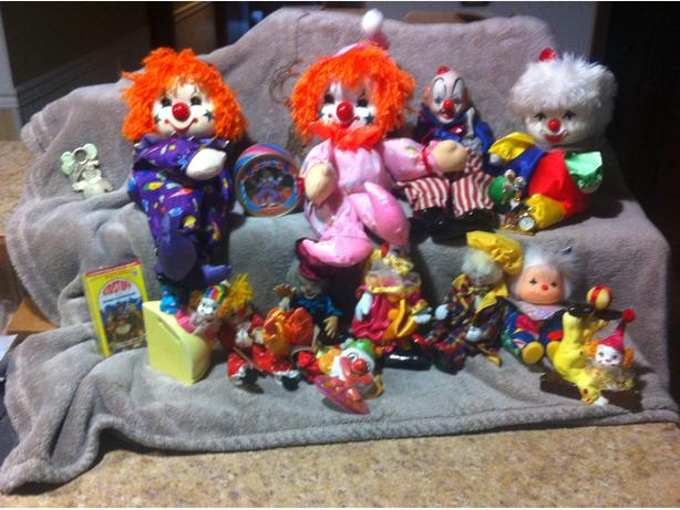 COLORFUL CLOWN COLLECTION