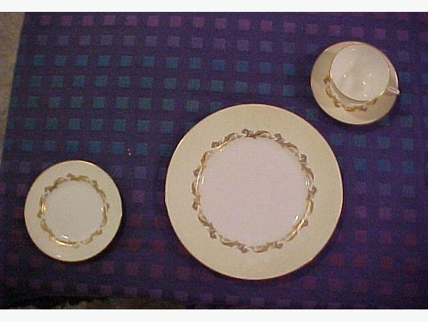 Minton Gold Laurentian set