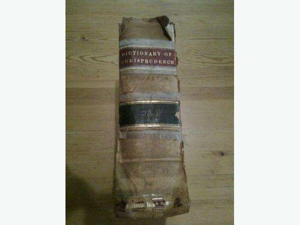 Wharton's Dictionary of Jurisprudence