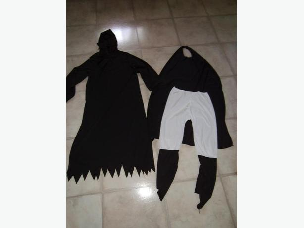 2 Dress up Costumes  Size medium