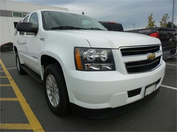 2008 chevrolet tahoe hybrid outside metro vancouver vancouver. Cars Review. Best American Auto & Cars Review