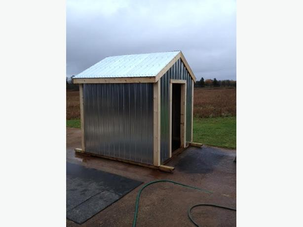 ** Custom Built Storage Sheds, Woodsheds, or Garages Built **