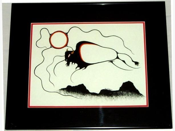 Buffalo by Tuck Reid