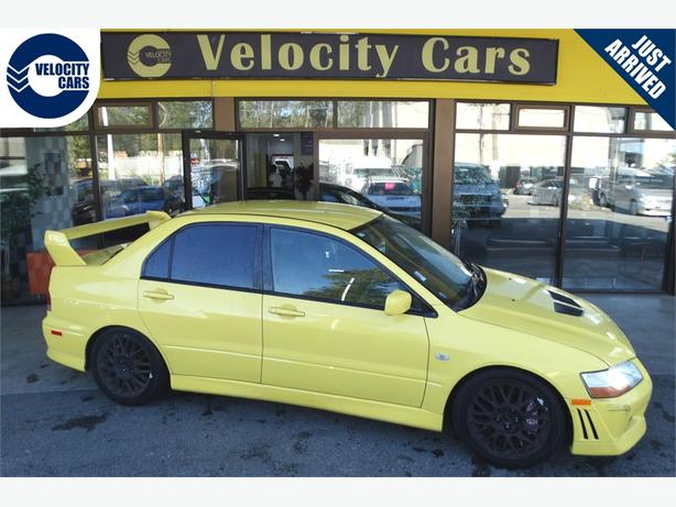 2001 Mitsubishi Lancer Evolution 7 140K's Turbo 276hp Sport Seats