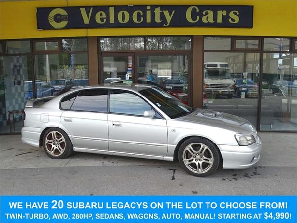 1999 Subaru Legacy B4 RSK 4WD Twin-Turbo Manual 82K's Low MIleage - $