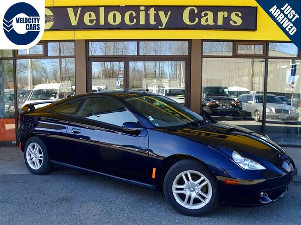 2000 Toyota Celica SS-1 146K's Manual Coupe 145hp