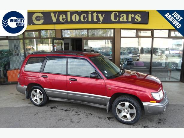 1997 Subaru Forester  56K's AWD Turbo 237hp