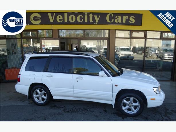 2001 Subaru Forester 71K's AWD Turbo 237hp