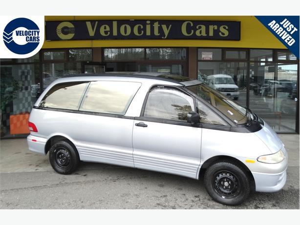 1995 Toyota Previa Estima 24K's DIESEL AWD twin SunRoof