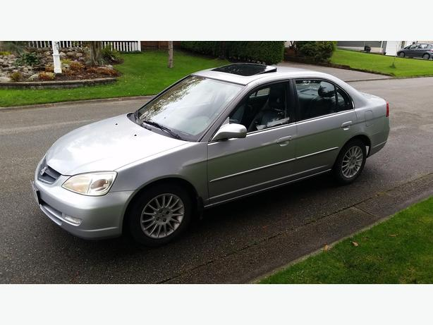 2003 Acura 1.7 EL 5spd manual Premium - $4600 (Surrey)