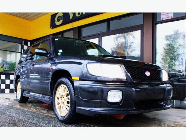 1999 Subaru Forester 42K's AWD Turbo 237hp