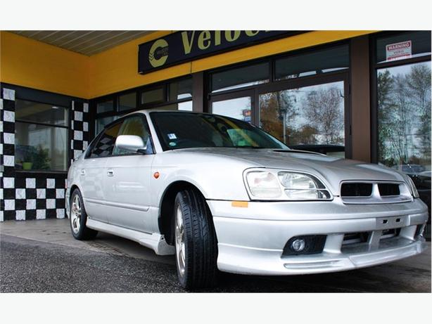 1999 SUBARU Legacy B4 RSK 4WD 77K's Twin-Turbo 276hp LEATHER