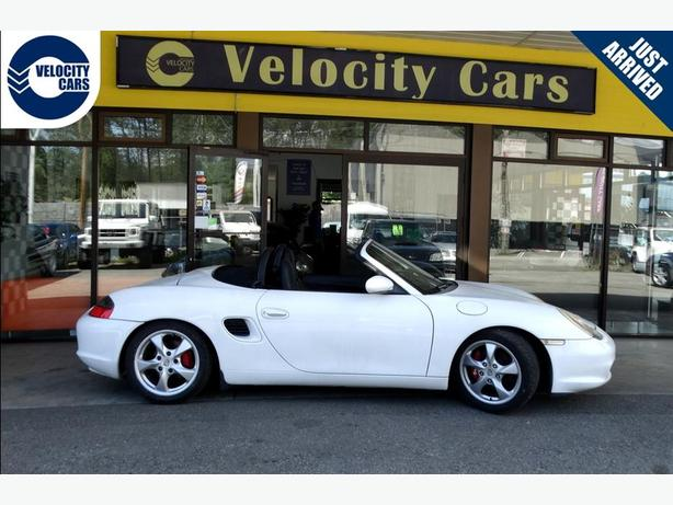 1997 Porsche Boxster Convertible Certified 71K's Leather
