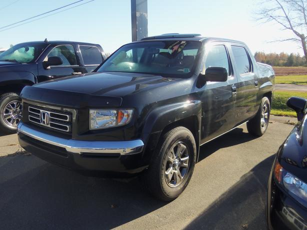 2007 HONDA RIDGELINE EX-L 4WD !! HEATED LEATHER !! SUNROOF !!