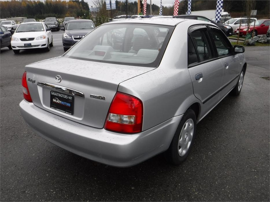 2003 Mazda Proteg 233 Es 5 Spd Manual Bc Vehicle Only