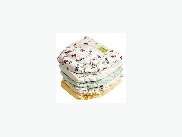 REDUCED!!  BABY KUSHIES ULTRA WASHABLE DIAPERS & LINERS