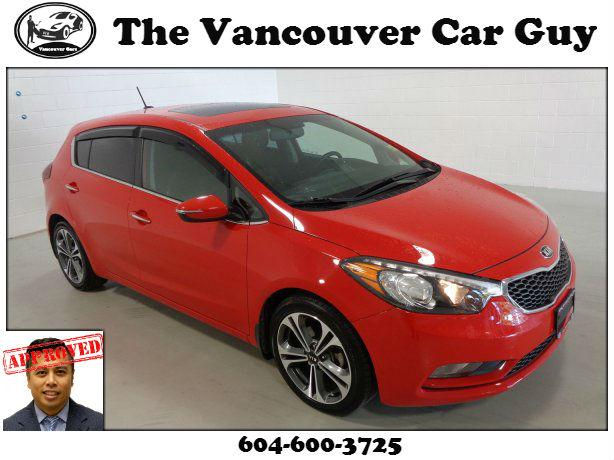 2016 Kia Forte 5-Door EX (v17086a) - w/ sunroof and back up camera