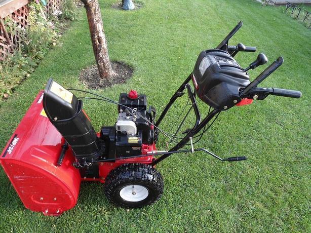 yard machine mtd snow blower