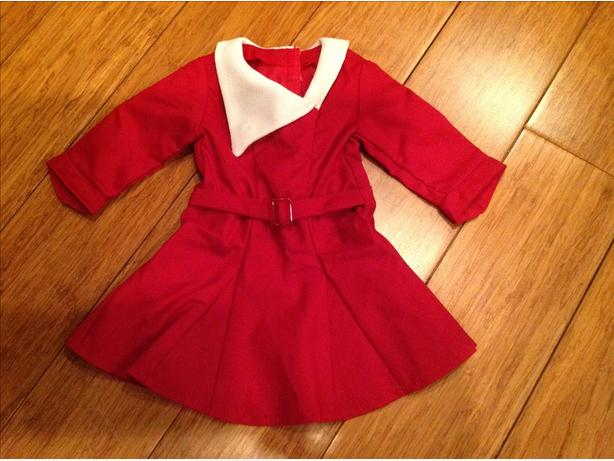 American girl holiday dress