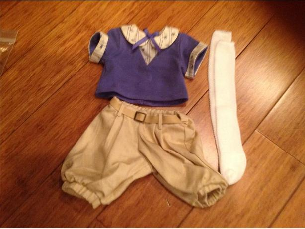 American girl play outfit
