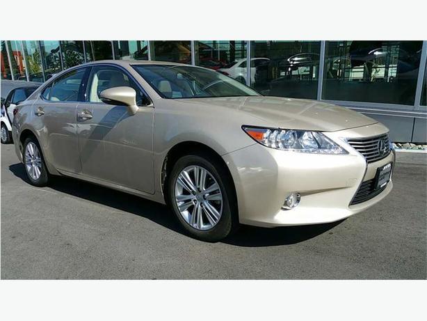 2013 Lexus ES 350 ONE OWNER B.C. NAVIGATION/BACKUP