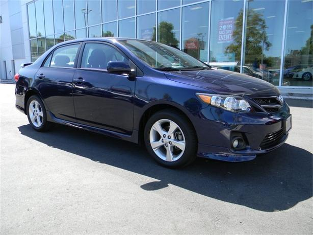 2013 Toyota Corolla S ONE OWNER LOCAL VICTORIA FULL SERVICE HISTORY