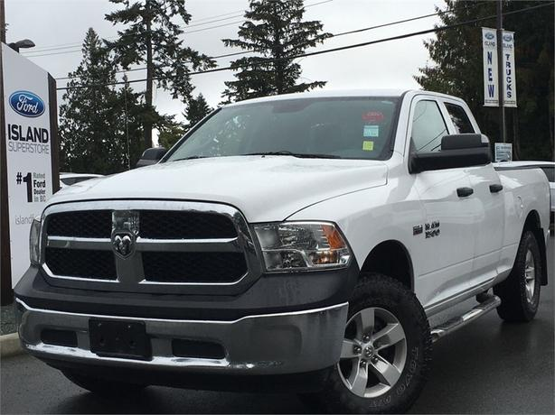 2015 Ram 1500 ST, MP3, Spray-In Bed Liner