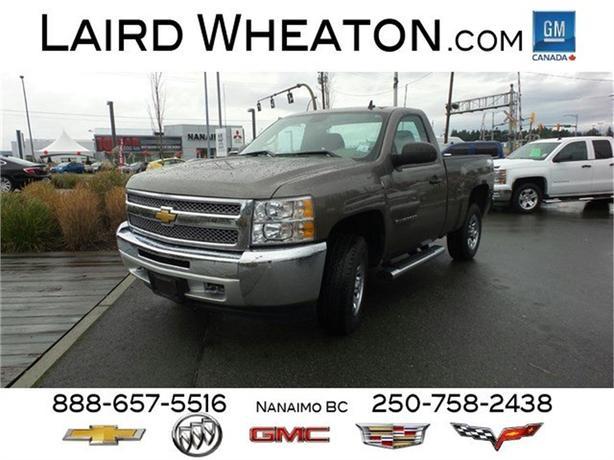 2013 Chevrolet Silverado 1500 4x4 Work Truck w/ Trailering Suspension Package