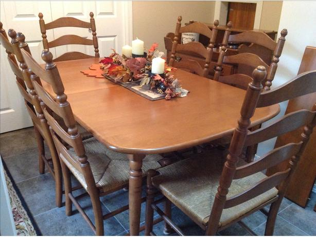 Maple Dining Set By Vilas Candlelight