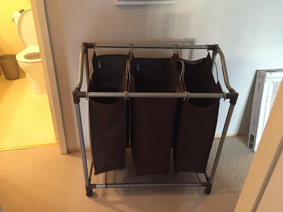 Divided laundry hamper oak bay victoria - Divided laundry hampers ...