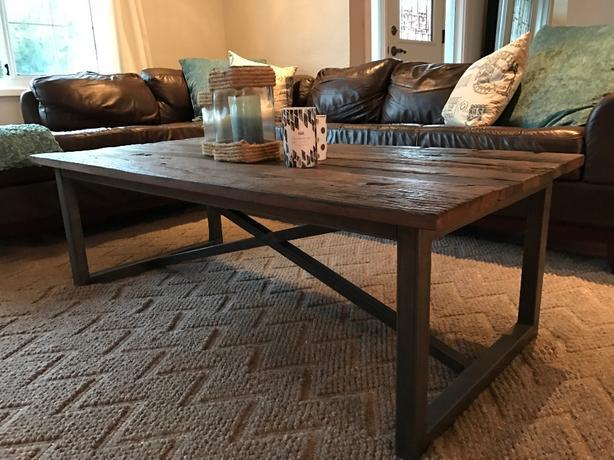 $885 ·  Urban Barn Coffee Table & End Table