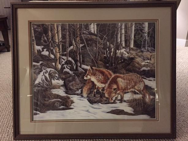 Judy Larson -Wherewolves print
