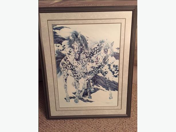 Judy Larson - Crow Ponies Print